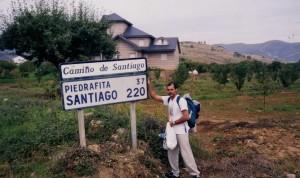 Dirceu na trila de Santiago