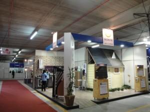 Stand Gasômetro Madeiras na Construvale 2010