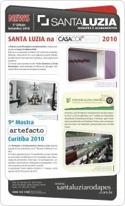 Novidades Rodapés Santa Luzia de Setembro