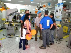 Elson no Feirão Gasômetro Máquinas