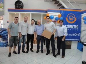 Entrega do Prêmio Equipe Arauco e Gasômetro Madeiras