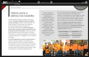 Gasômetro Madeiras na Revista RgMóvel