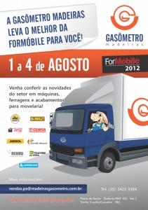 A Gasômetro Madeiras leva o melhor da ForMóbile para Minas Gerais!