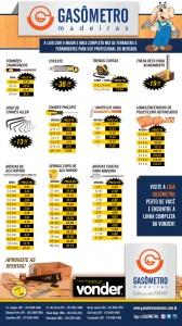 Vonder com os melhores preços você encontra na Gasômetro Madeiras