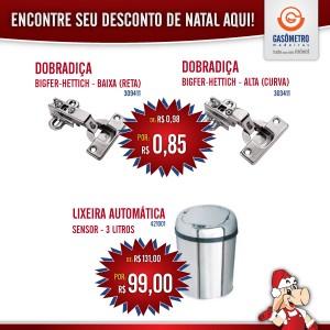 Promoção de Natal Gasômetro Madeiras
