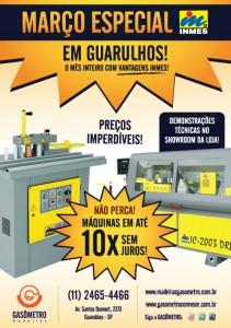 Máquinas Inmes na Gasômetro Madeiras