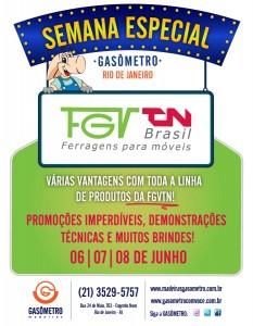 Promoção de Ferragens FGVTN na Gasômetro do Rio