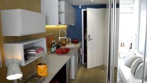 Apartamento com 18 m2 comercializado na região central de São Paulo