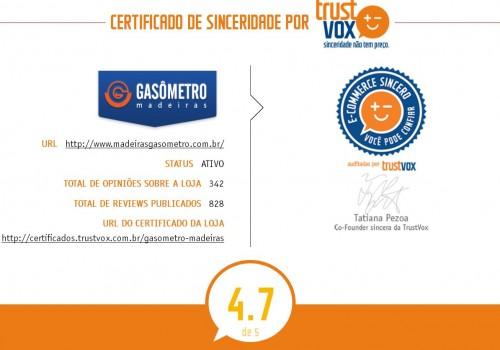 Trust Vox Gasômetro Madeiras