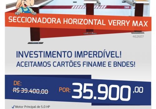 E-mail mkt Seccionadora Horizontal Verry