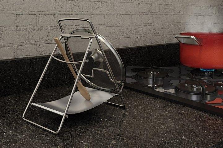 Porta Talheres e tampa de panela para cozinhar
